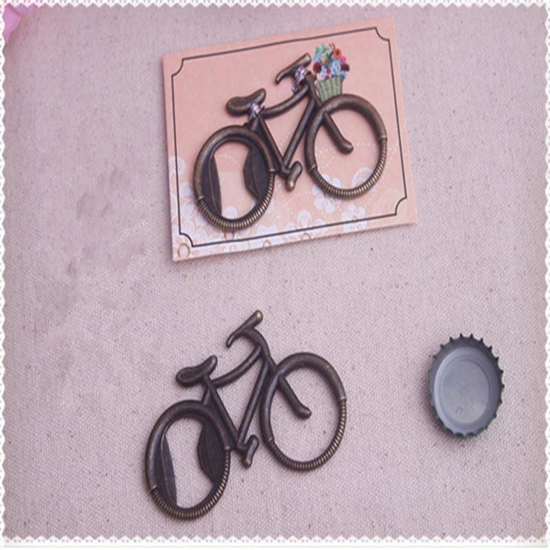 bicicleta bicicleta em forma de abridor de garrafa de casamento festa de casamento convidado