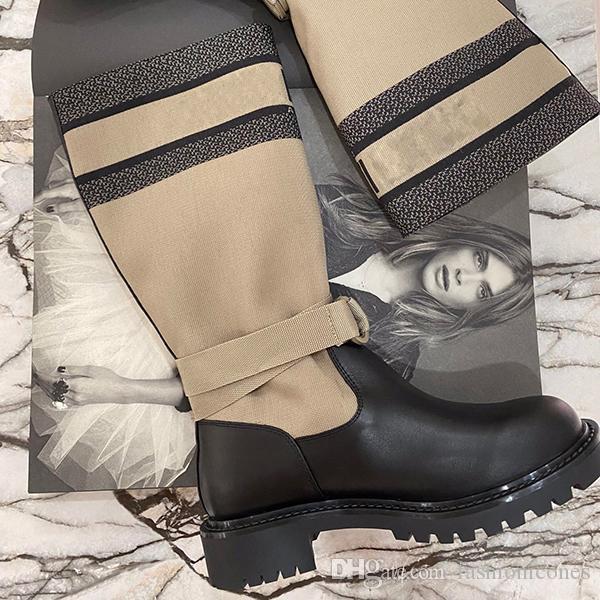 Moda kadın yüksek topuklu martin çizmeler lüks yağmur botları ve ayak bileği çizmeler martin ayakkabı ile yüksek kaliteli bayanlar kış büyük 35-41