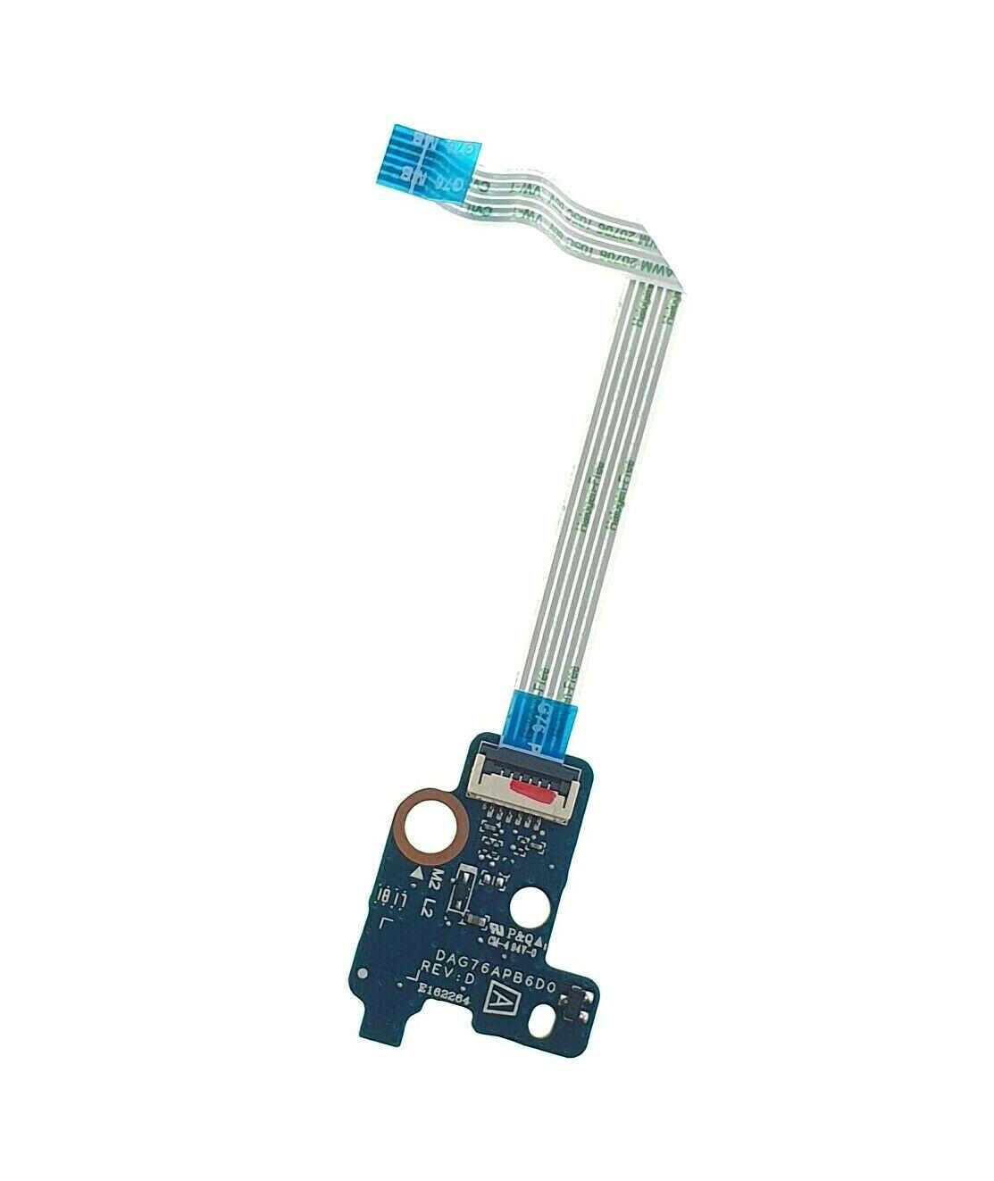 Original 928947-001 pour HP Pavilion 15-CC 15-CC563ST Bouton d'alimentation avec câble DAG76APB6D0 fonctionne bien
