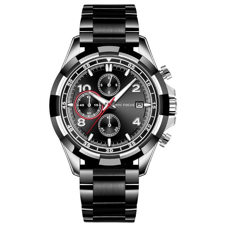 Специальное время Top Brand Спортивные часы Мужчины Мода Мужская Кварцевая Наручные Часы Бизнес Джентльмены Часы Нержавеющей Стали Мужской
