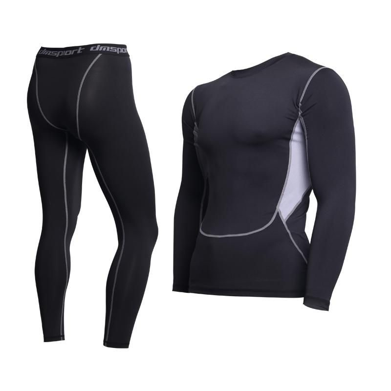 Thermal Underwear For Men Male Thermo Clothes Long Johns Thermal Tights Winter Long Compression Underwear Quick Dry Dropshipping T200113