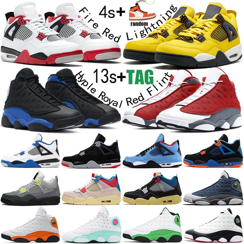 4s men basketball shoes jumpman 13s Hyper Royal Flint 13 4 Fire Red bred Lightning mens womens trainers outdoor sports sneakers