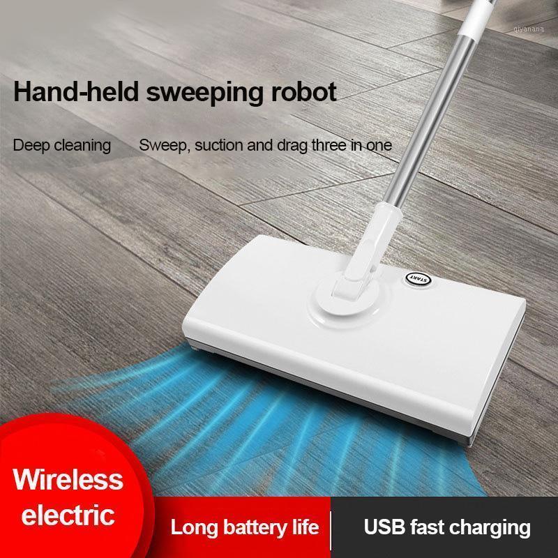 3 в 1 Электрическая MOP Подметание робота беспроводной USB зарядки мини портативные вакуумные очиститель 360 градусов вращающийся станок для пола1