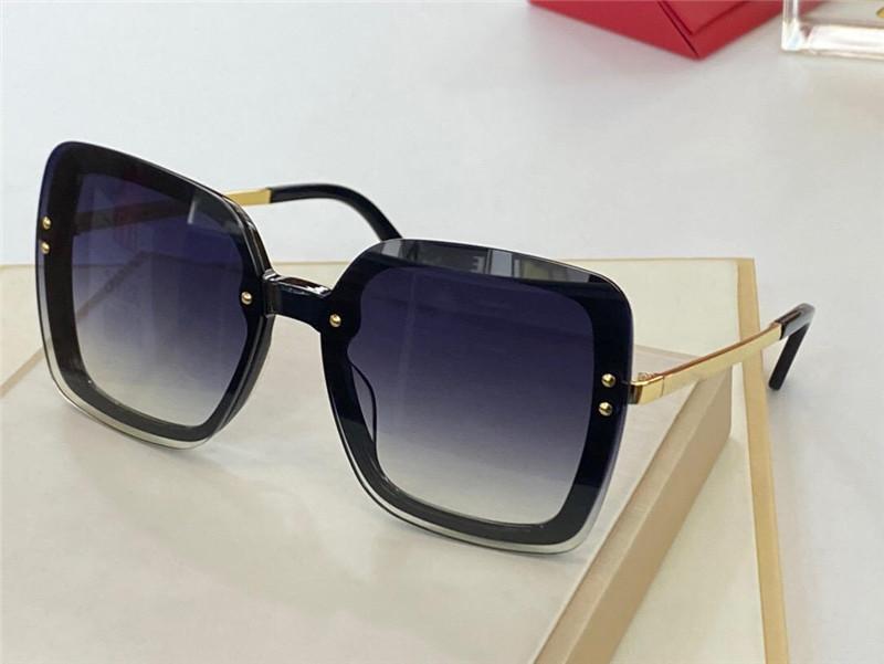 0462B Yeni Stil Bayanlar Güneş Gözlüğü Popüler Moda Yaz Kare Kedi Gözlük Stil En Kaliteli UV Koruma Lensleri Ücretsiz Koruyucu Kapak
