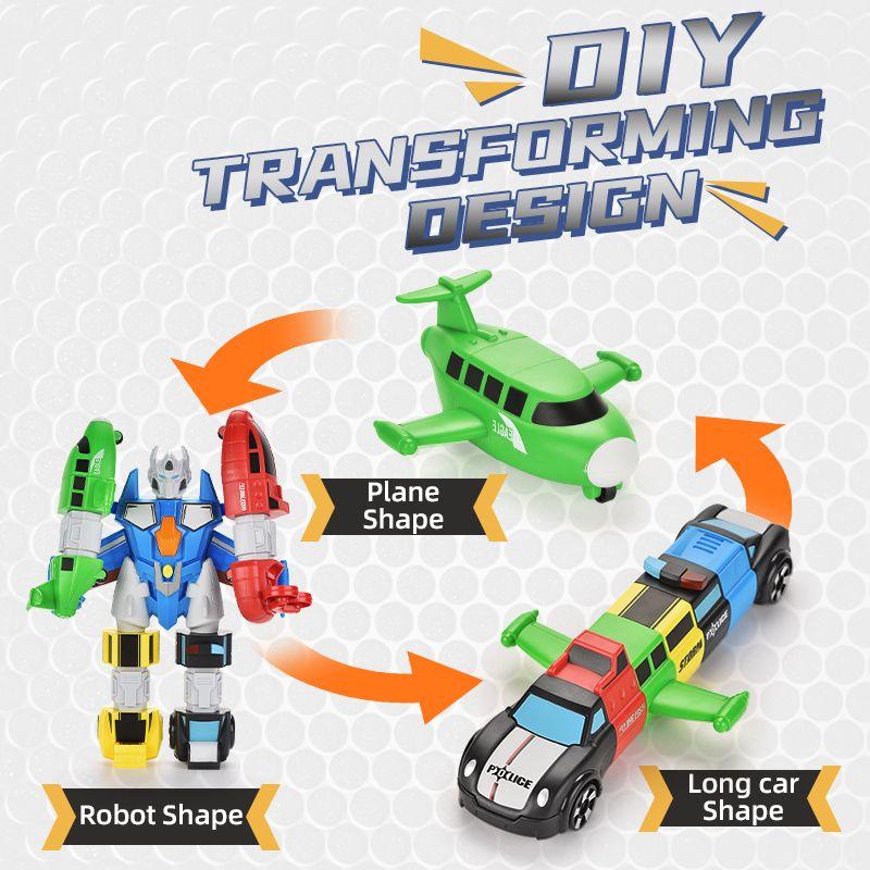 DIY головоломки магнитные головоломки для детей разнообразные магнитные сборочные игрушки 5-в-1 комбинированная версия TW2011017