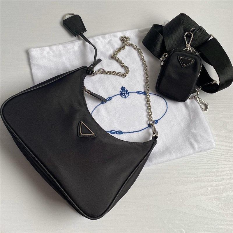 Fourre-tout sac de qualité épaule haute réédition chaude dame cuir ODEX luxe luxe chaîne de la chaîne de nylon de nylon de nylon GKC HA judds