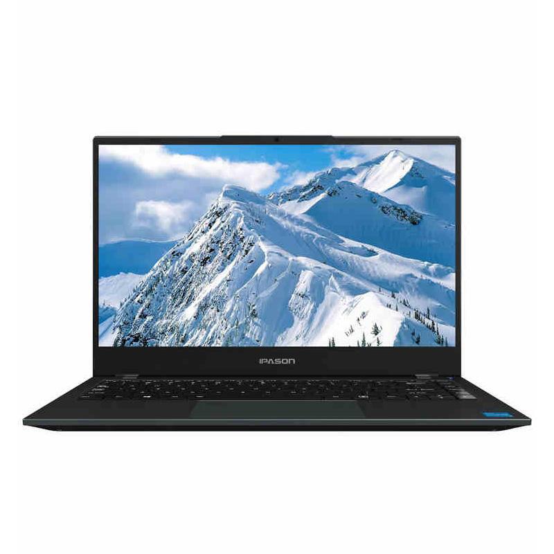 IPASON S1 11th GEN CORE I5 1135G7 8G 256G 14 بوصة خفيفة رقيقة جدا المحمولة الأعمال المحمولة الكمبيوتر الراقية فتح بصمات الأصابع