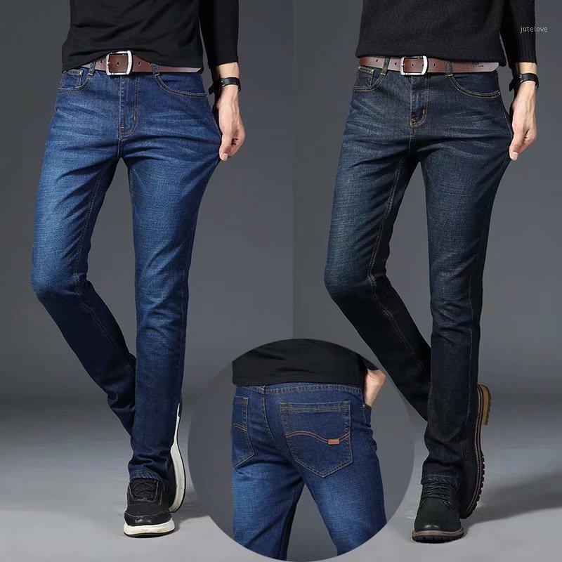 Spring Automne 2020 Mode Nouvelle Stretch Jeans Homme Coréen Tendance Black Casual Pantalon Casual Garçons Lâche grande taille 40 Pantalons droits1