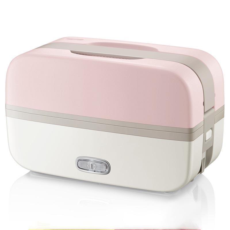 220V Elektrische Mittagessen Mahlzeiten Heizkasten Haushalt Tragbare Elektrische Multi-Kocher-Reiskocher mit 4 Liners Wärmer Reisboxen