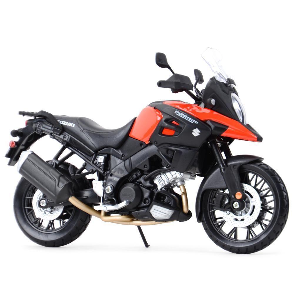 Maisto 1:12 Suzuki V-Strom statische statische sterente gegossene fahrzeuge sammeln hobbies motorrad modell spielzeug y1201