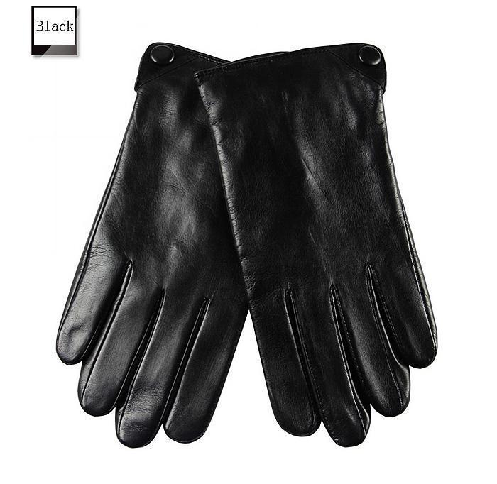 Qualität Top Hot Selling Herren Wildleder Echtes Leder Sporthandschuhe für Radfahren 1 Paar / Los # 2 Farbe