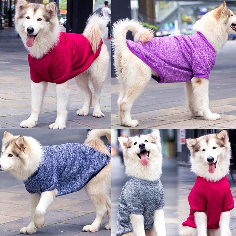 S-9XL Hundekleidung für große Hunde Kleidung Hunde Manteljacke für Haustier Kleidung Haustier Kleidung Kostüm Labrador Hound Outfit