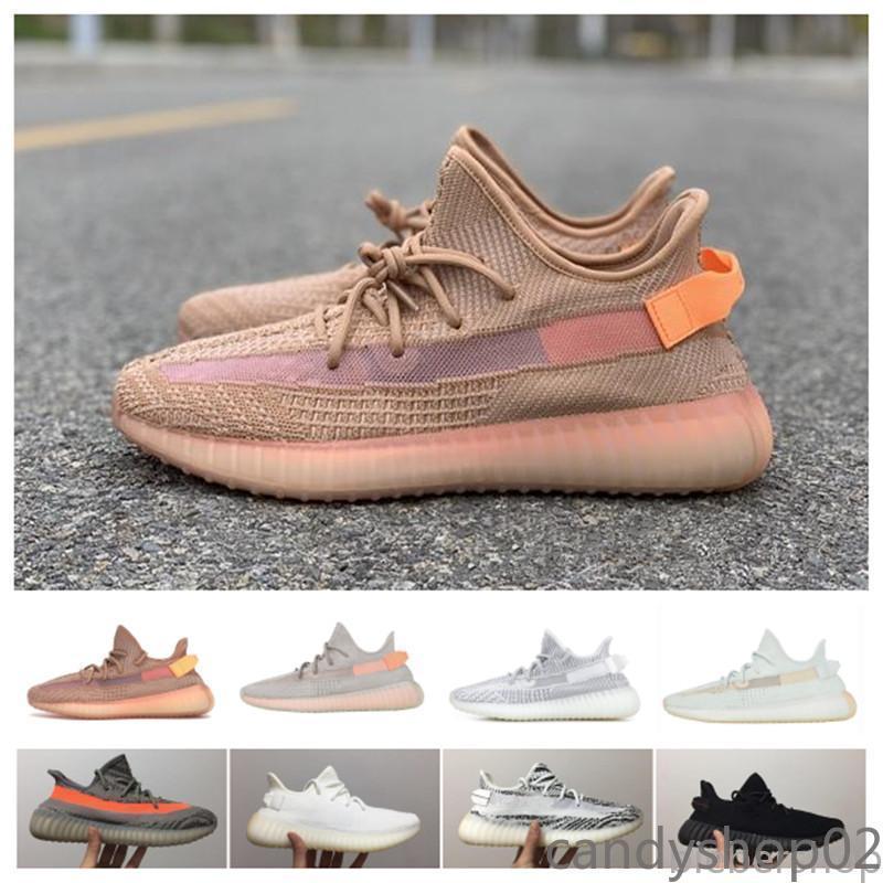 2019 novos homens sapatos casuais estática sésamo reflexivo zebra creme estático branco preto bred sapatos mulheres esporte sapatilhas ca02