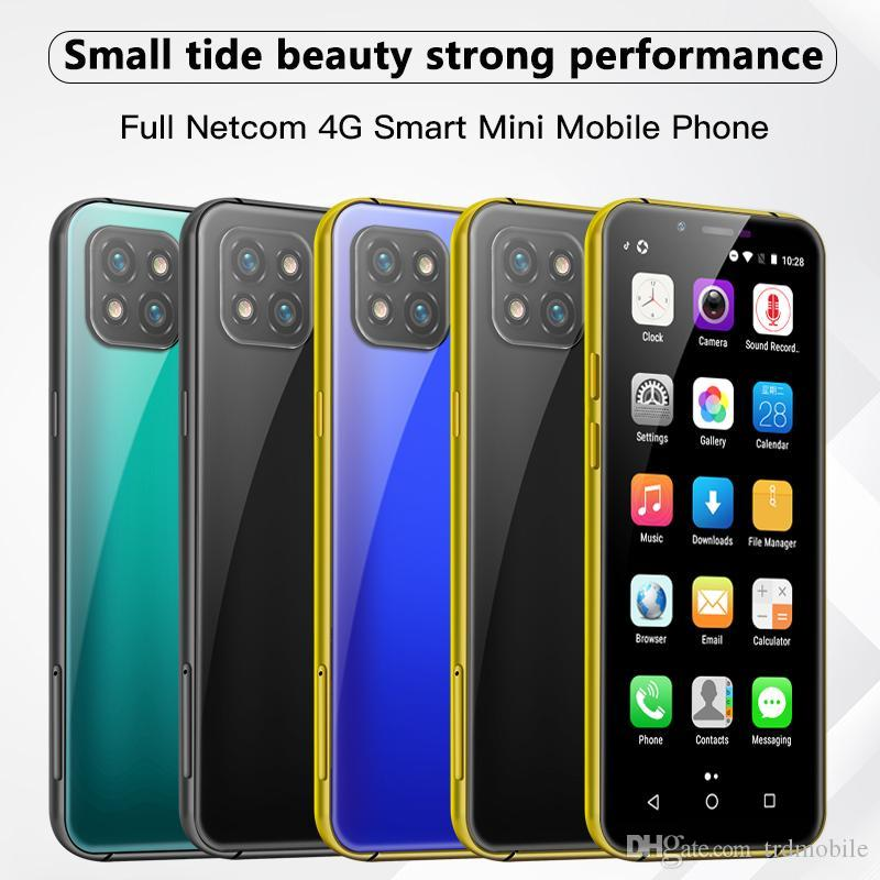 Goophone Mobile Phones unlocked cell phones 3.6 inch bezel-less Global Bands Smartphone Moviles with face id infrared remote for Girls Women