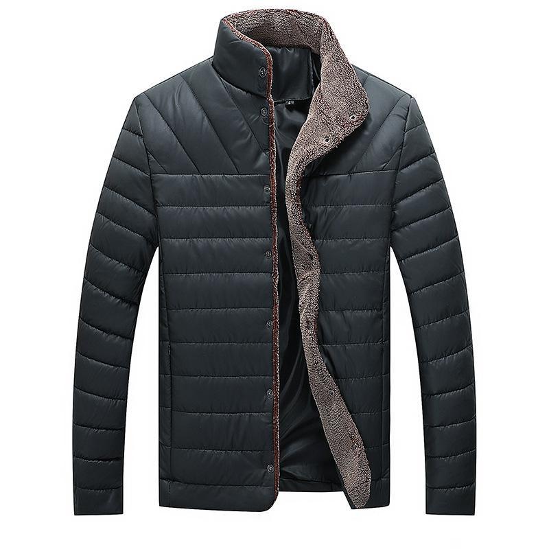 2020 NUEVO CALIENTE Además de Velvet Thick Hombre Color Casual Cuero My138 Jacket de algodón MW3U