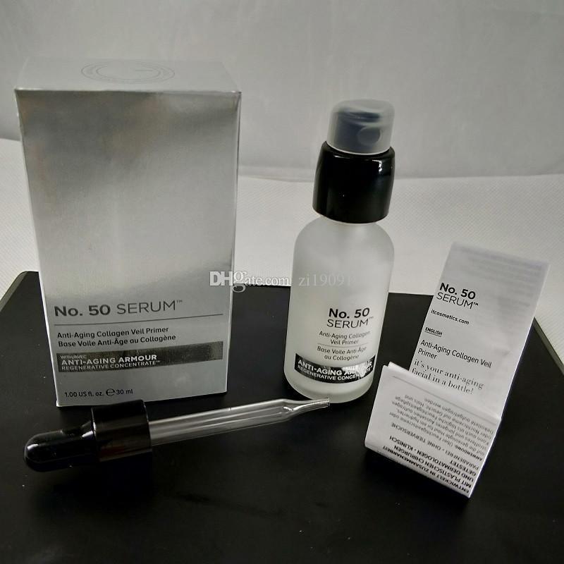 in stock! No.50 SERUM Collagen Veil Primer Base Voile au Collagene Lotion Moisturizing 30ml