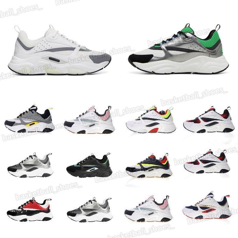 Luxurys Designers Reflexivo Plataforma Sapatos de Calfskin Trainer Top Casual Homens Treinadores Esportes Sneakers Tamanho 35-45 Vintage