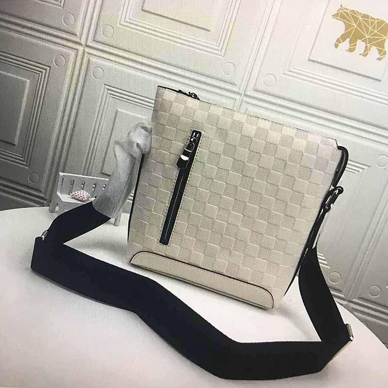 Дизайнеры сумка N40122 Discovery S пыльник сцепление посланник деловые сумки поездка мода решетка кожаный мужчина на плечо мешок с кроватом кошелек сумка мне XGXN