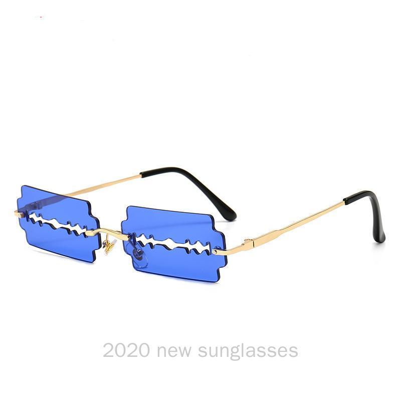 Lunettes de luxe Lunettes de Streetwear Femmes Design Lunettes de soleil rectangulaires HIP-HOP Eyewear Marque étroite Sun NX Mode Nocdo sans ruisse