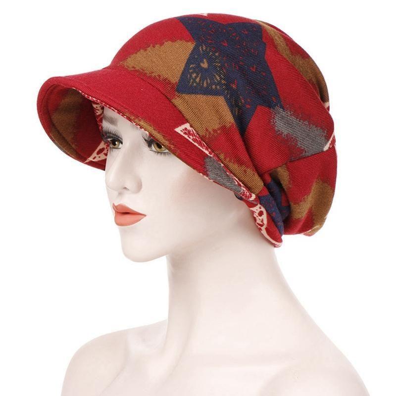 2011dedados gorra mujeres hat guirland cola de caballo doble con capucha a rayas de moda de moda de costura de costuras de color