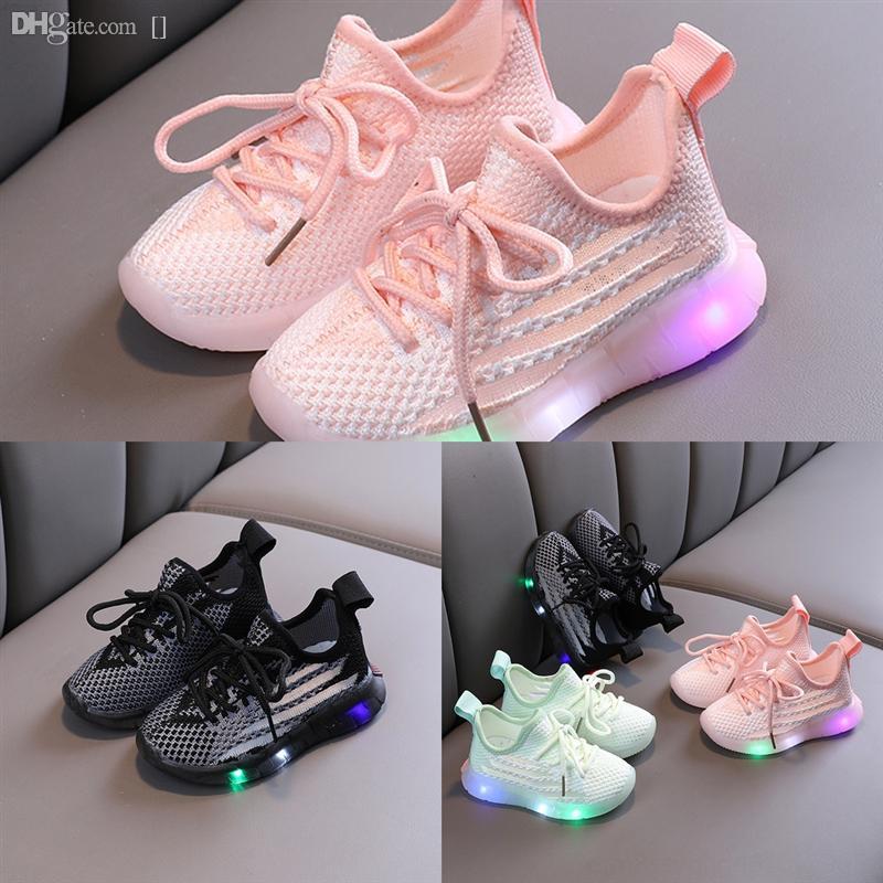 Sapatos iluminados para crianças Beach infantil Sapatos respiráveis Crianças Sapatilhas para crianças meninas luz brilhante tênis luminoso para meninos Krasovki le