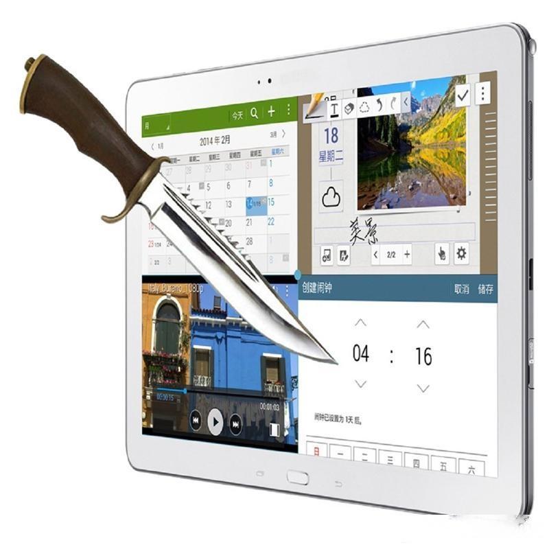 Prueba de explosión 9h 0.3mm protector de pantalla vidrio templado para Samsung Galaxy Note Pro 12.2 P900 P901 Sin paquete