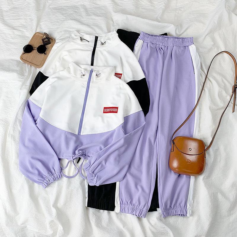 Spring Herf повседневная овечья девушка хип-хоп тонкий мода случайный спорт Harajuku пакет женских топов вторичные наряды