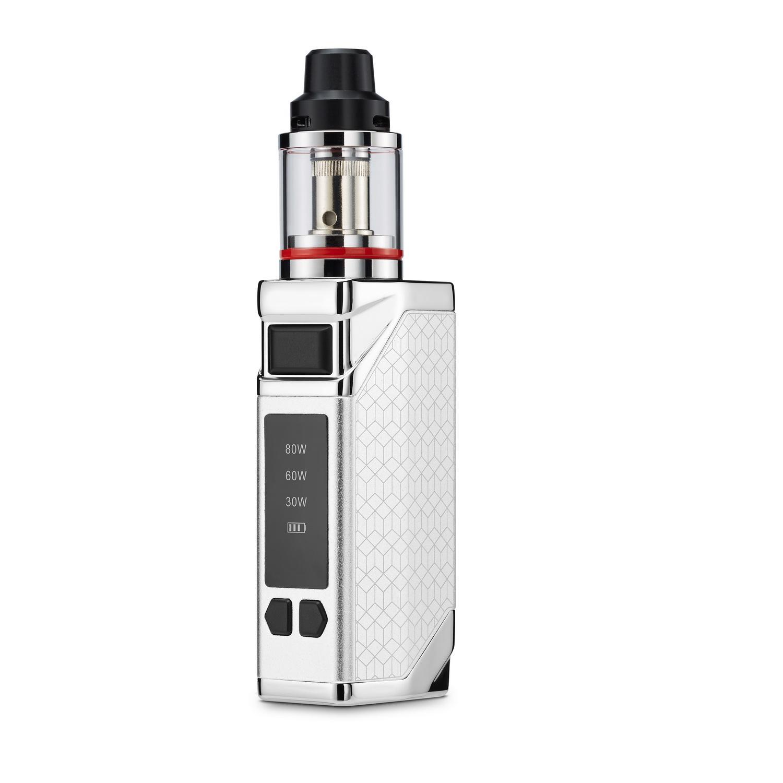 Оригинальная коробка Lexintong 80W 2200MAH 18650 аккумулятор 2.0ML Распылитель для потенциала MOD электронная сигарета