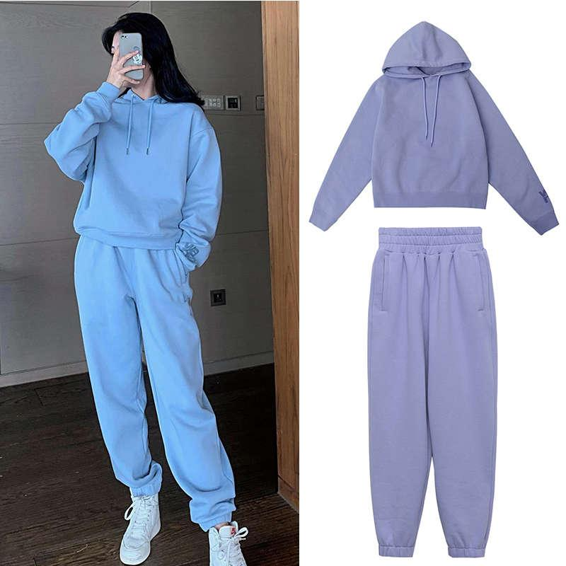 Sweater Cashmere Suit New Women's Thickened Fashion King em 2020