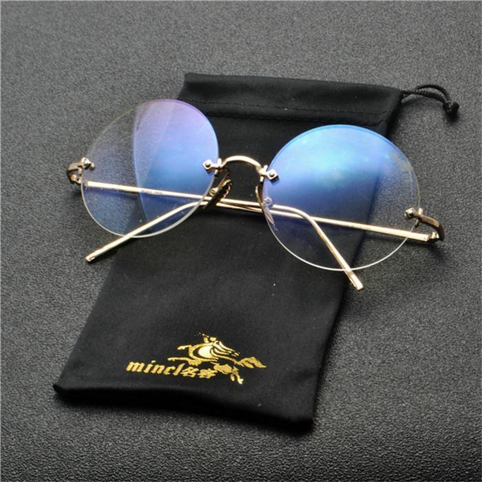 Kadınlar Marka Tasarımcı Güneş Gözlükleri Unisex Vintage Güneş gözlüğü Ayna Şekerler Şeffaf Lens Shades NX için 2020 Moda Yuvarlak Güneş