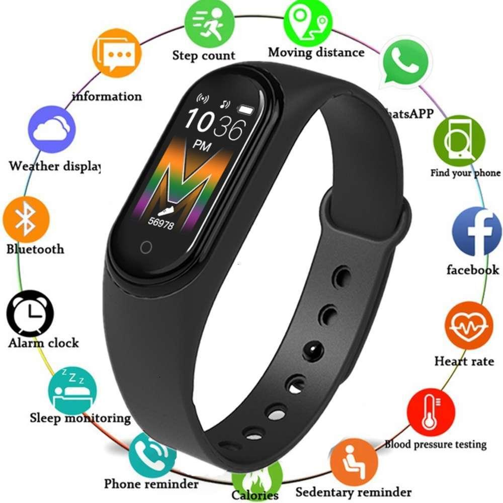 Intelligent Wristband M5 M45, waterproof Sports watch with heart rate and blood prsure controljk