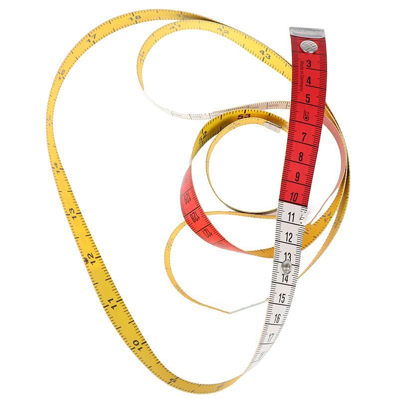 1.5m Body Measuring Ruler Sewing Tailor Tape Measure Mini Soft Flat Ruler Centimeter Meter Sewing Measuring Tape