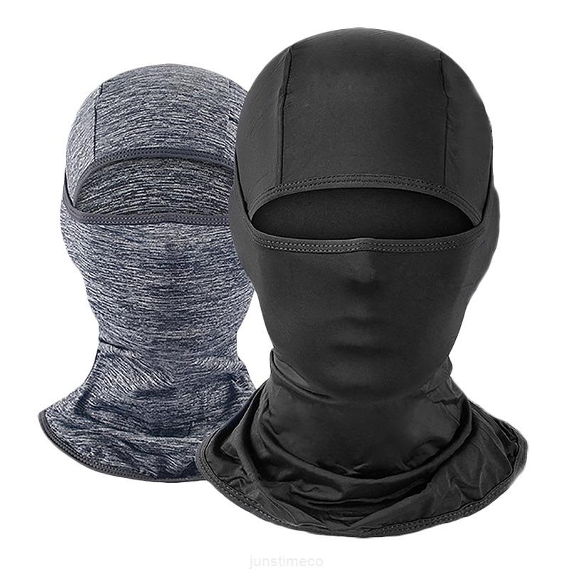 Homens de esqui rosto para máscara mulheres uv sol proteção máscaras, ciclismo caminhadas máscara preto