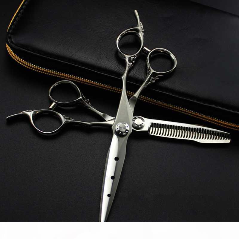 Professionnel Japon 440c 6 pouces UPCALE Mat Ciseaux Ciseaux Couper de coiffure Makas Ciseaux Ciseaux Ciseaux Ciseaux de coiffure