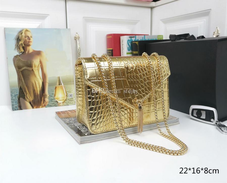 Top Quality New Designer Bag Portafoglio Borsa da donna Borse Borse Borse Crossbody Soho Borsa Borsa a tracolla in oro Borsa a tracolla in oro