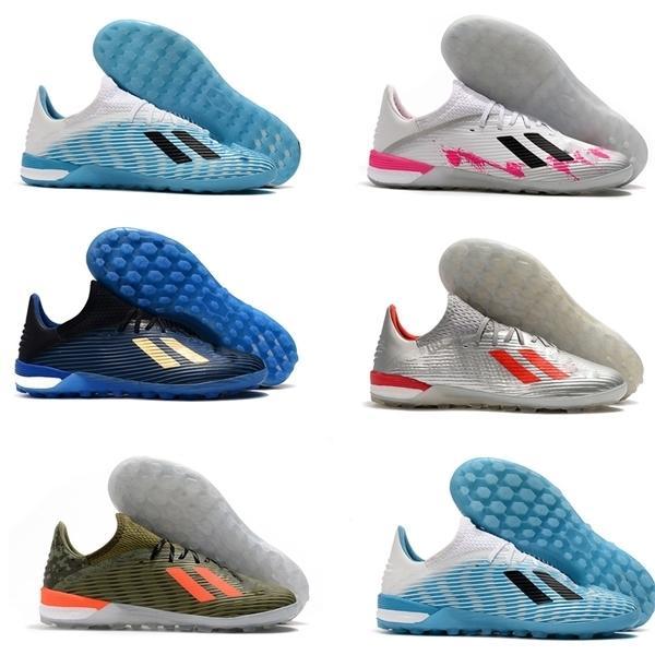 hot mens soccer shoes X 19.1 IC indoor soccer cleats X 19 Cheap tango football boots leather Tacos de futbol scarpe calcio