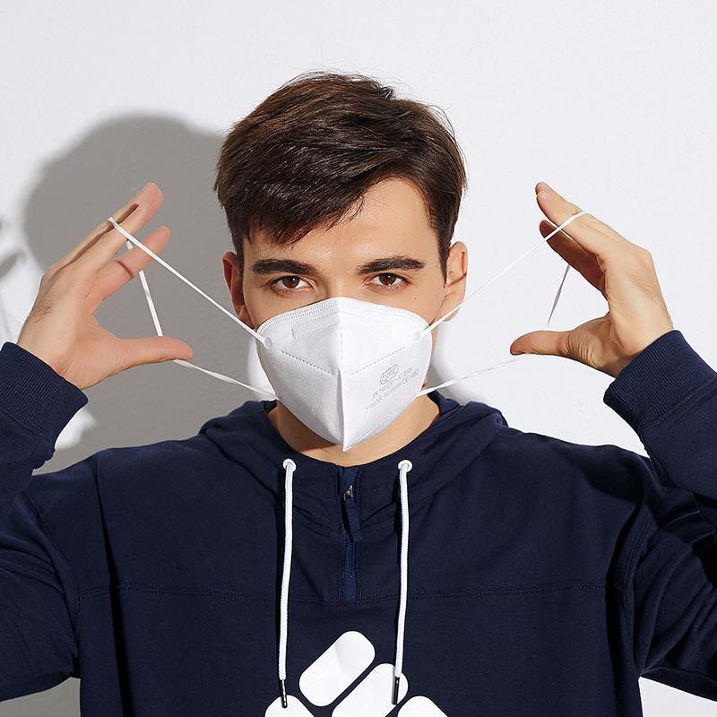 KN95 FFP2 CE PM2.5 пылезащитный анти-пыль 95% фильтра маска дышащая удобная металлическая носовая маска наружные FFP2 защитные функции