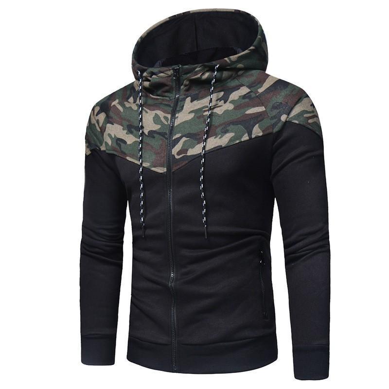 Erkek Ceketler Zogaa 2021 Erkekler Rahat Mont Erkek Ceket Ceket Dış Giyim Kazak Bahar Ince Hoodie Sıcak Kapüşonlu Kazak Bırak