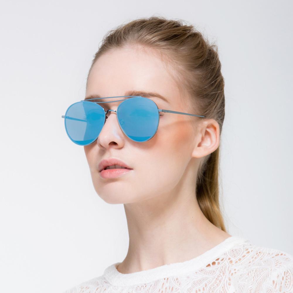 Männer Großhandel-Chan Donny Pilot Sonnenbrillen für Frauen Mode Sonnenbrille Metallrahmen Glaslinsen UV400