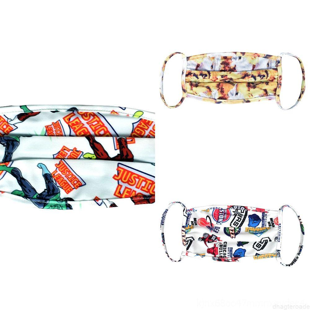 Pour Chrismas Kids Masque Galaxy Respirant Galaxy Nouveau Design Fahion Fahion Masques Adulte Masques pour garçons Face Face filles Girls Impression lavable