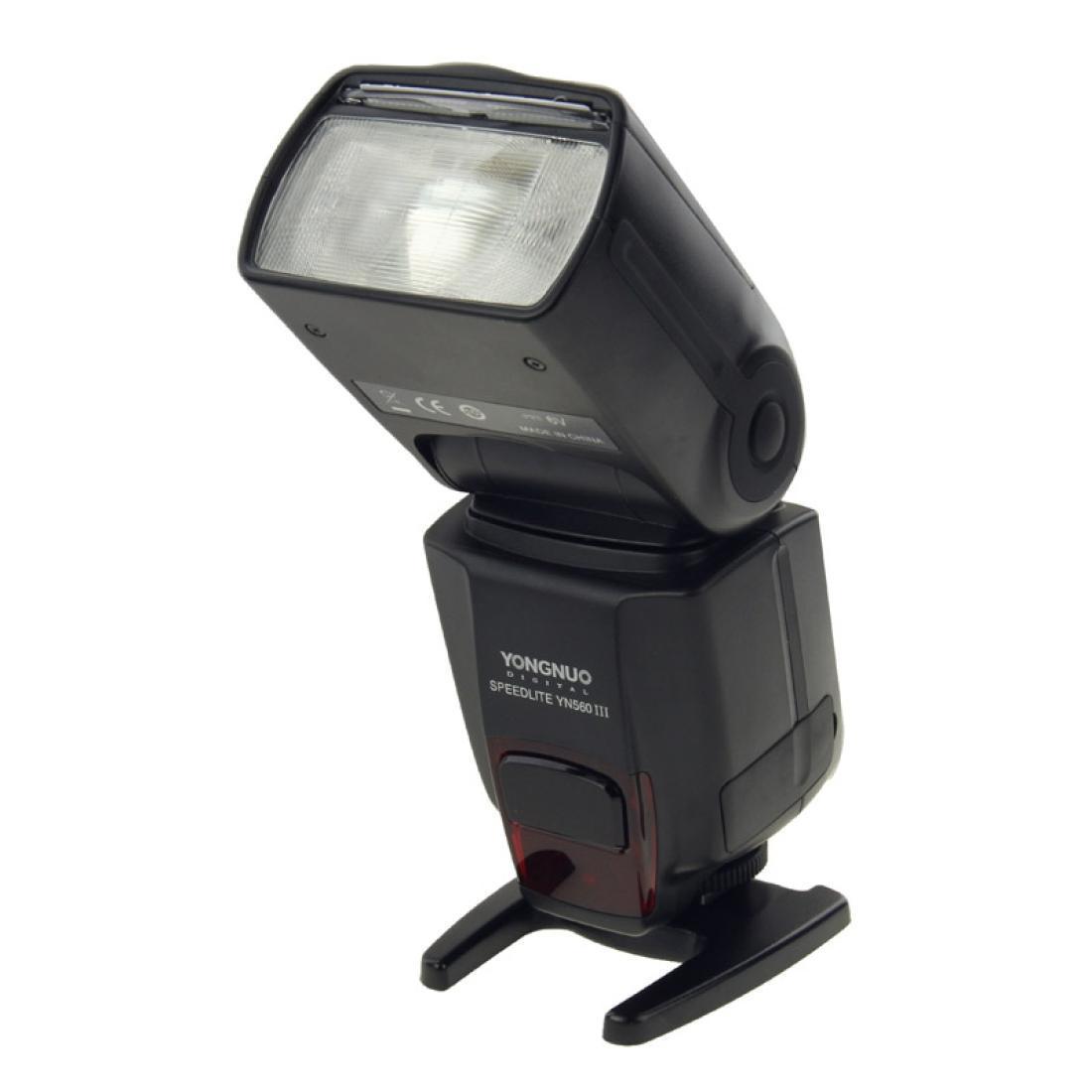 Yn-560 III Speedlite sem fio de flash sem fio ultra-longa com sapato quente de metal para canon nikon pentax olympus dslr câmera