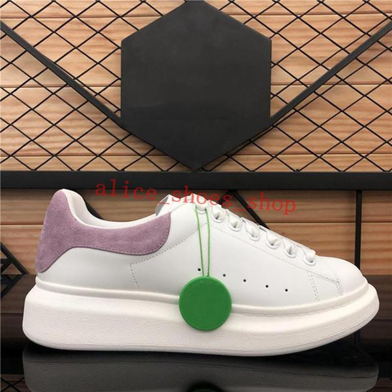LUXE Designer Designer uomo e pelle da donna scarpe piattaforma Piattaforme Sneakers Fashion Nubuck in pelle scarpe piatte modelli di coppia
