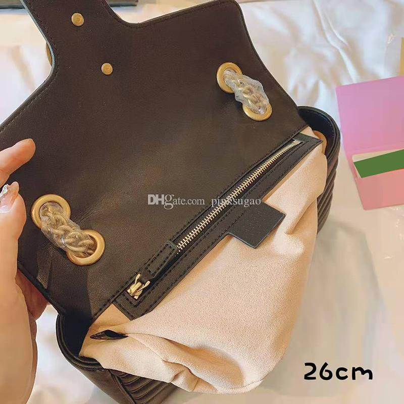 Bolsas genuínas Bolsas Crossbody Designer Couro com mulheres Gletter Luxuoso Gluxury Bags SHouderler Box Bolsas Cadeia Bolsas Designer B Qcau