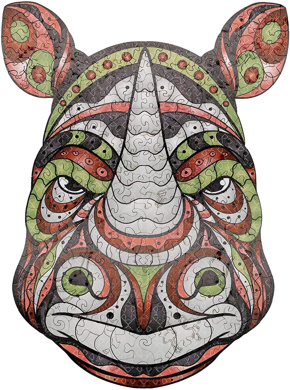 Banlv Rogue Rhino Деревянная головоломка, лучший подарок для взрослых и детей, уникальные фигуры. Сделано в Китае