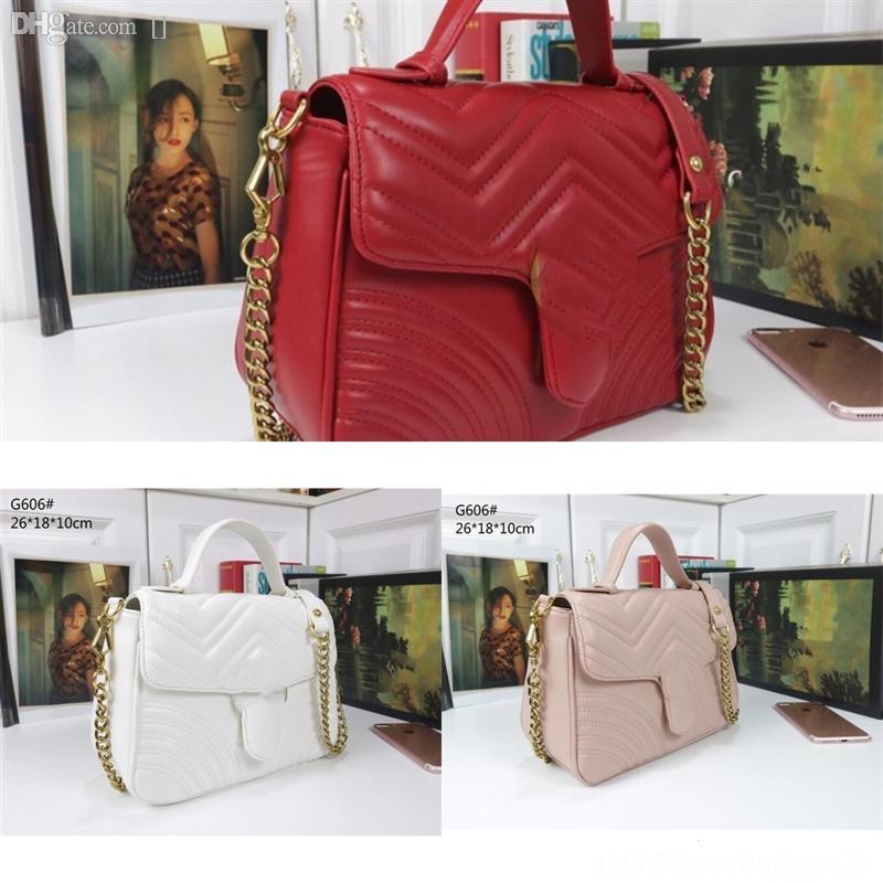 Bolsas clásicas genuinas Bolsas Clasísticas Moda Compras RHCVO Handbag Designer Sizeet Hombro de cuero Hombro con bolsos de asas GM Luxur PhpF