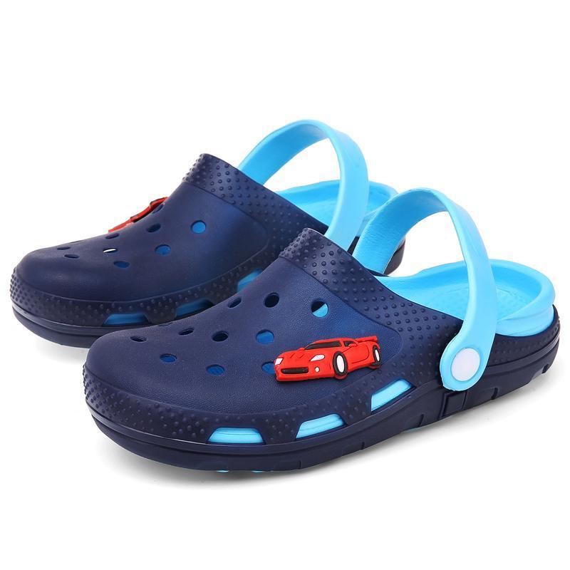 Atletik Açık Bebek Ayakkabıları Yanıp Sönen LED Kızlar Terlik Çocuklar Prenses Yaz Çocuk Gökkuşağı Sandalet
