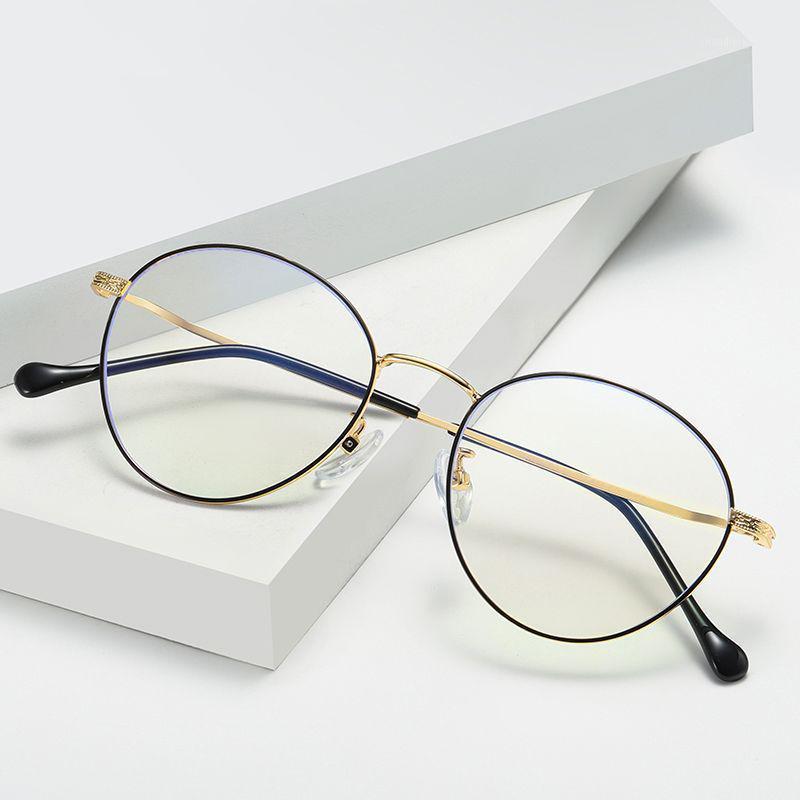 Frauen Männer Brille Anti Blue Light Blocking Mode Optische Klarobjekte Lesen Computer Gamiing UV400 Goggle1