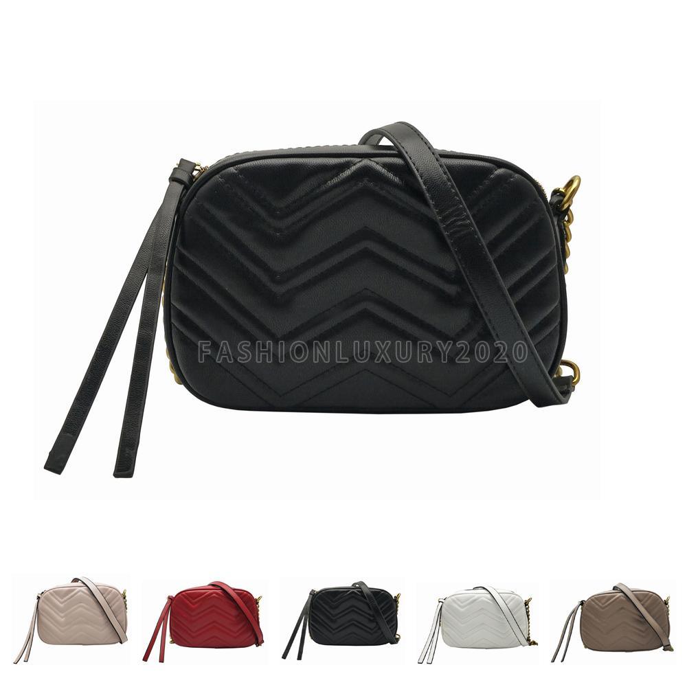 Schnelles Versand Mode Frauen Handtaschen Totes Goldkette Umhängetaschen Crossbody Soho Bag Disco Messenger Bag Geldbörse Brieftasche Rucksack Paket