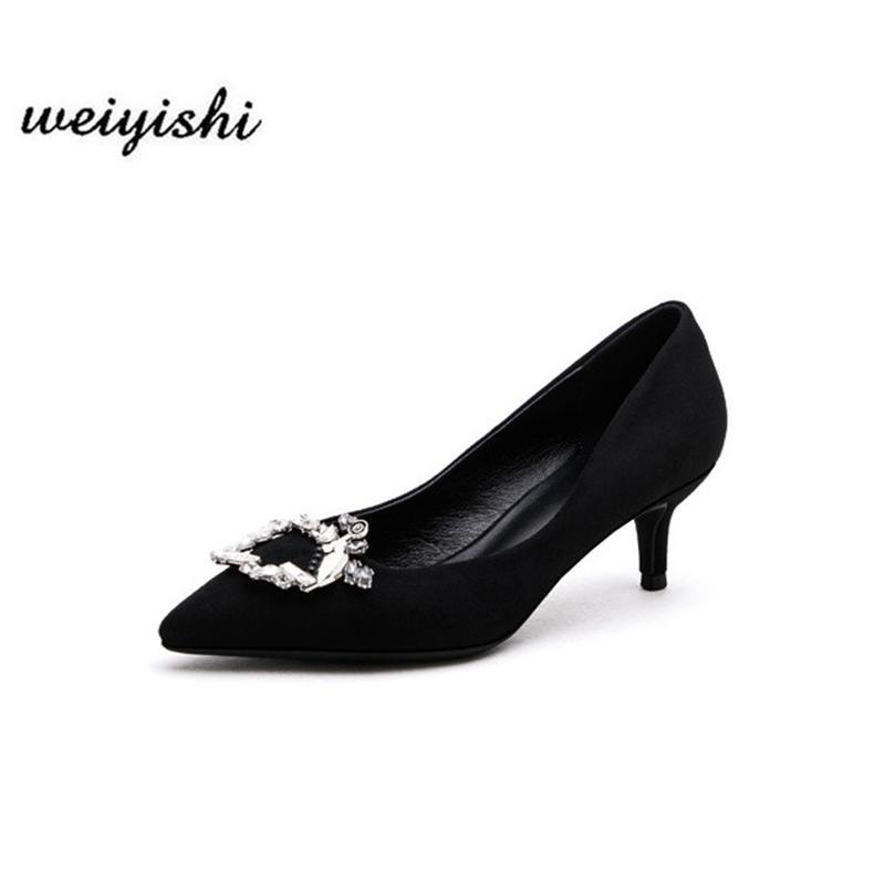 Женщины новая модная обувь. Леди Обувь, Weiyishi Brand 021 LJ201112