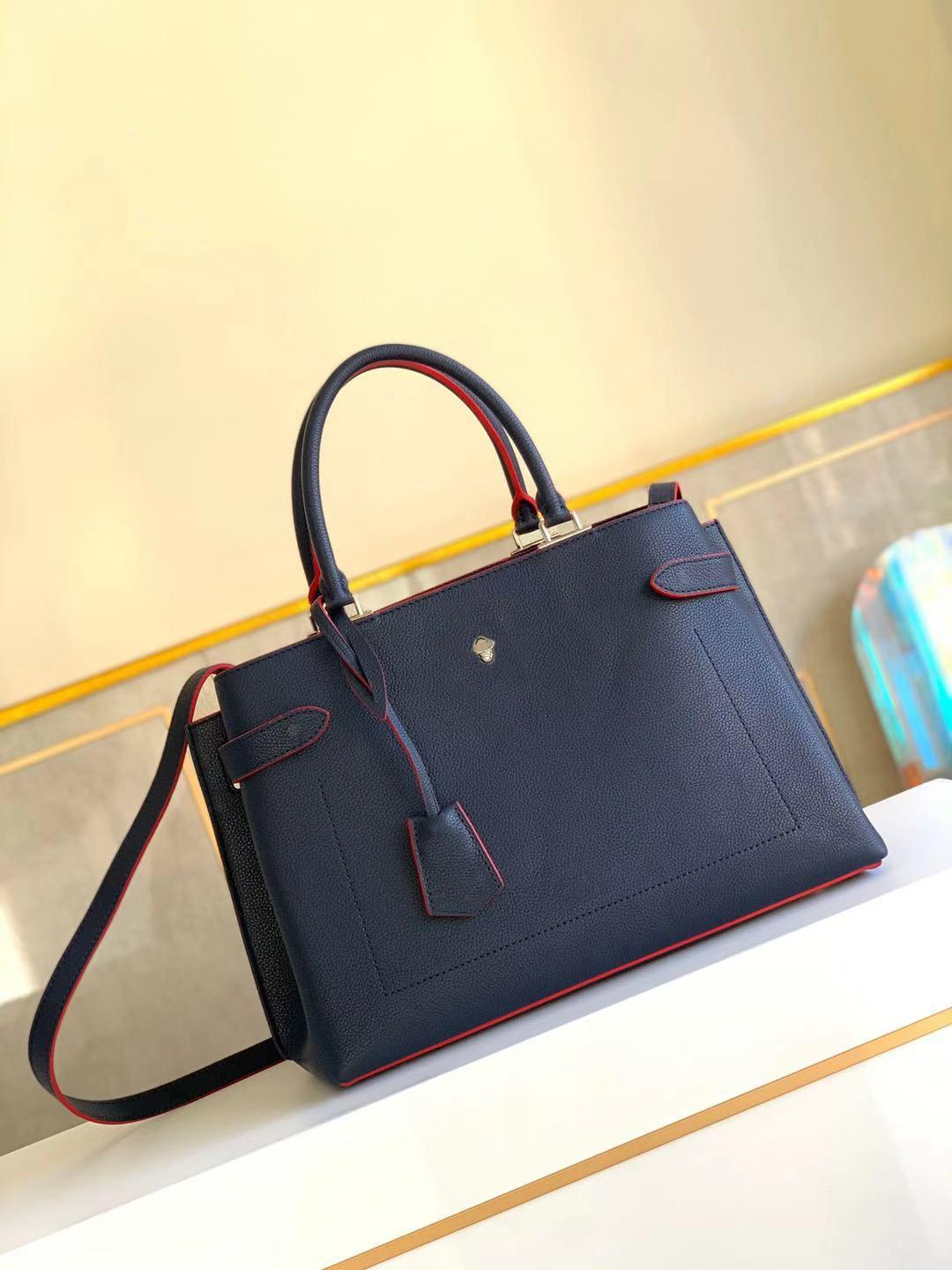 LOCKME DAY TOTE BAG original leather elegant lady shoulder shopping bag tote high quality Messenger bags chic newest purse wallet with strap